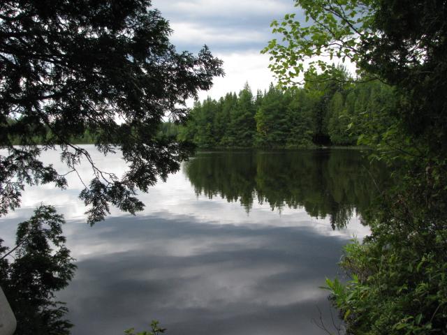 Tranquilité de l'eau