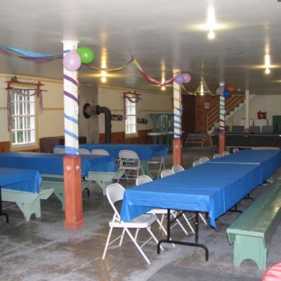 Salle domaine bleu